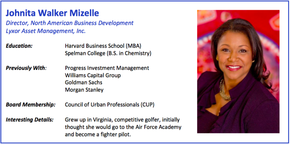 Johnita Walker Mizelle Bio