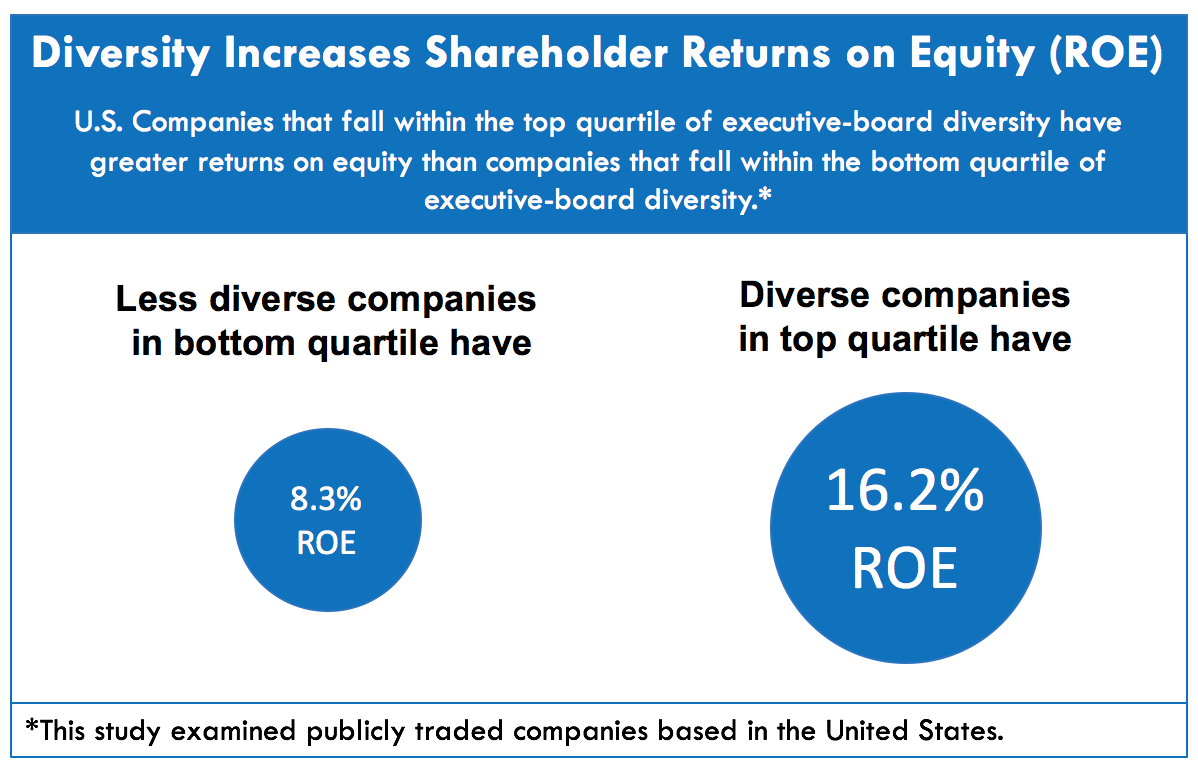 Diversity Returns on Equity